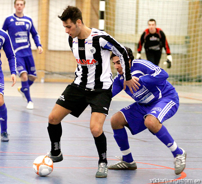 Sargon Abraham i IFK Skvde FK-Tenhults IF 8-7