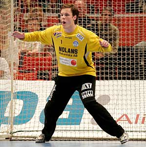 Richard Kappelin i Alingsås HK-IF Guif SM-FINAL Herrar 29-26