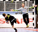 Michael Apelgren i Champions League IK Sävehof-FC Barcelona Intersport 26-39