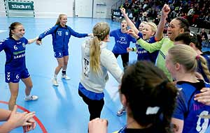 Ungdoms-SM Steg 5 Damjuniorer SM-FINAL Team Stockholm HF-Lugi HF 21-10