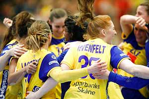 Sofia Hvenfelt i EM-Kval Sverige-Serbien 31-30